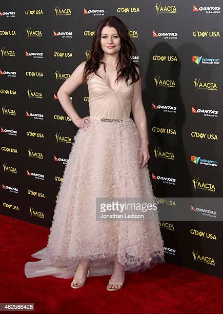 Actress Emilie de Ravin attends the 2015 G'Day USA Gala featuring the AACTA International Awards presented by Qantas at Hollywood Palladium on...