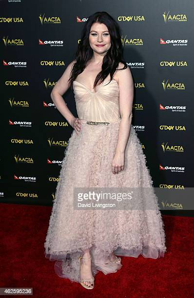 Actress Emilie de Ravin attends the 2015 G'Day USA Gala featuring the AACTA International Awards presented by QANTAS at the Hollywood Palladium on...