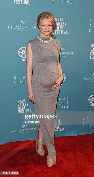 Actress Emilie De Ravin attends the 2015 Napa Valley Film Festival Gala at the Lincoln Theatre on November 12 2015 in Yountville California