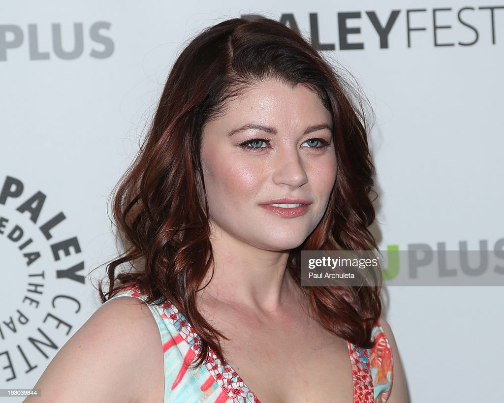 Actress Emilie de Ravin attends the 30th annual PaleyFest featuring the cast of 'Once Upon A Time' at the Saban Theatre on March 3, 2013 in Beverly Hills, California.