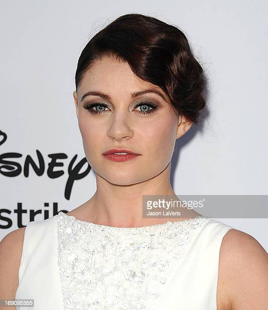 Actress Emilie de Ravin attends the Disney Media Networks International Upfronts at Walt Disney Studios on May 19 2013 in Burbank California