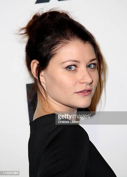 Actress Emilie de Ravin attends the Maxim FX and Home Entertainment ComicCon Party on July 19 2013 in San Diego California
