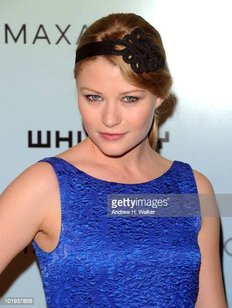 Actress Emilie de Ravin attends the Whitney Museum Art Party 2010 at 82 Mercer on June 9 2010 in New York City