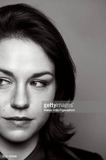 Actress Emilie Dequenne is photographed for Madame Figaro on January 17 2015 in Paris France Makeup by Givenchy Le Make Up CREDIT MUST READ Matias...