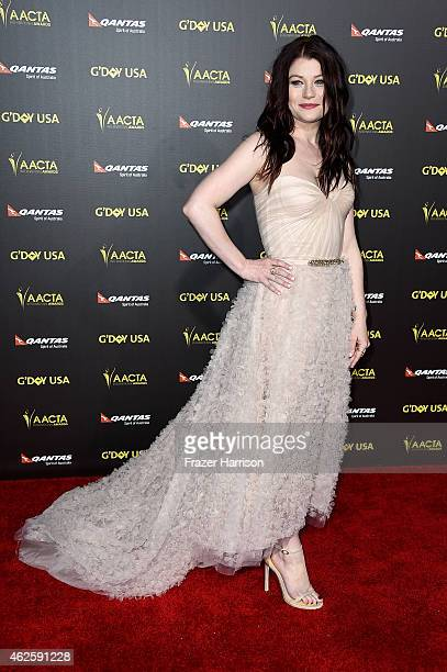 Actress Emille de Ravin arrives at the 2015 G'Day USA Gala Featuring The AACTA International Awards Presented By QANTAS at the Hollywood Palladium on...