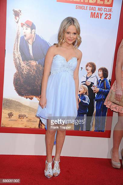 Actress Emily Alyn Lind arrives at the premiere of 'Blended' held at the TCL Chinese Theater in Hollywood