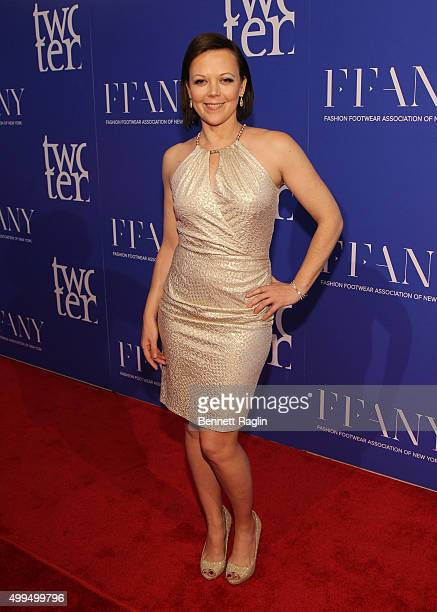 Actress Emily Bergl attends the Two Ten Footwear Foundation Dinner And Awards on December 1 2015 in New York City