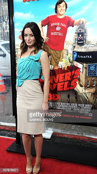 Actress Emily Blunt arrives at the premiere of 'Gulliver's Travels' on December 18 2010 at Grauman's Chinese Theater in Hollywood California AFP...