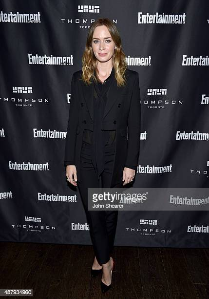 Actress Emily Blunt attends EW's Must List Party during the 2015 Toronto International Film Festival at Thompson Hotel on September 12 2015 in...