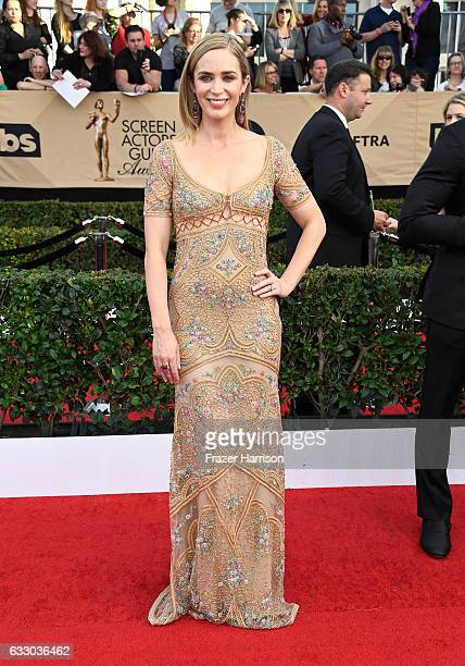 Actress Emily Blunt attends The 23rd Annual Screen Actors Guild Awards at The Shrine Auditorium on January 29 2017 in Los Angeles California 26592_008