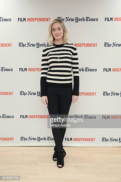 Actress Emily Blunt attends the Film Independent NYC 'Live Read at NYU Skirball Center on October 7 2016 in New York City