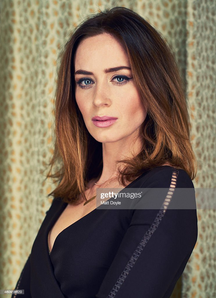 Actress <a gi-track='captionPersonalityLinkClicked' href=/galleries/search?phrase=Emily+Blunt&family=editorial&specificpeople=213480 ng-click='$event.stopPropagation()'>Emily Blunt</a> is photographed for Back Stage on November 25, 2014 in New York City.