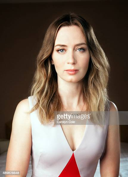 Actress Emily Blunt is photographed for Los Angeles Times on September 17 2015 in New York City PUBLISHED IMAGE CREDIT MUST BE Carolyn Cole/Los...