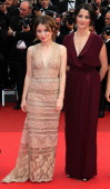 Actress Emily Browning and Director/writer Julia Leigh attend the 'Sleeping Beauty' Premiere during the 64th Annual Cannes Film Festival at the...