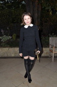 Actress Emily Browning attends the 25th amfAR Inspiration Gala at Pavillon Gabriel on June 23 2011 in Paris France