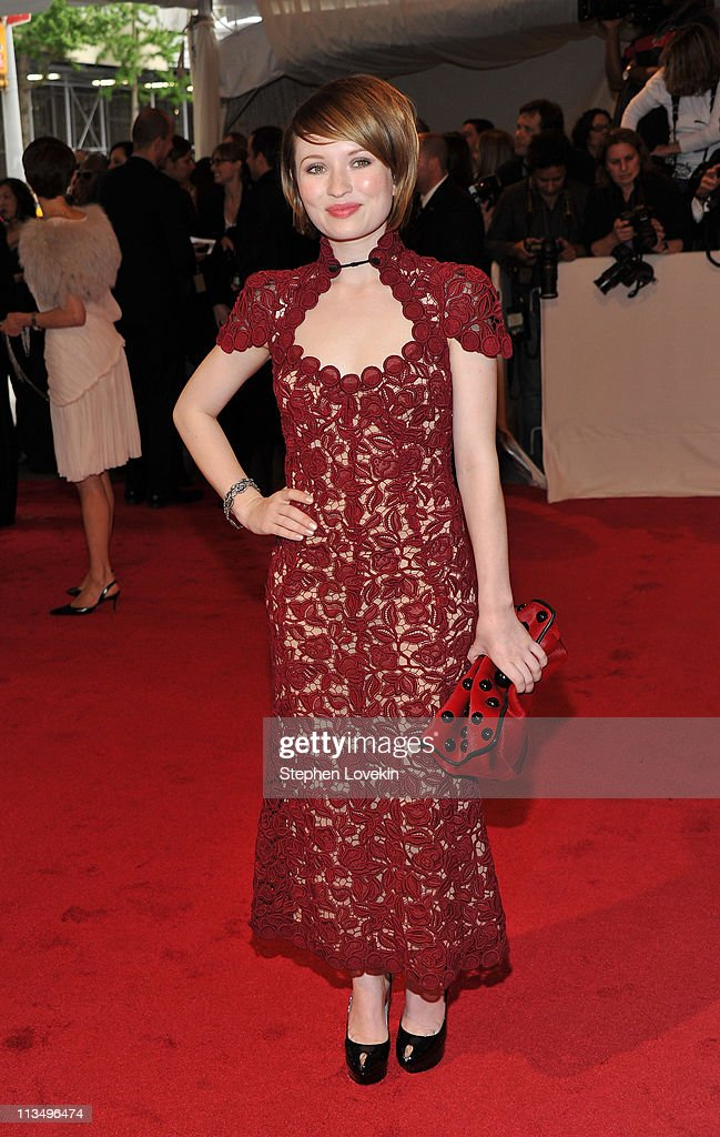 Actress Emily Browning attends the 'Alexander McQueen: Savage Beauty' Costume Institute Gala at The Metropolitan Museum of Art on May 2, 2011 in New York City.