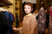 Actress Emily Browning attends the Miu Miu celebration of Fashion's Night Out at Miu Miu Boutique on September 10 2010 in New York City