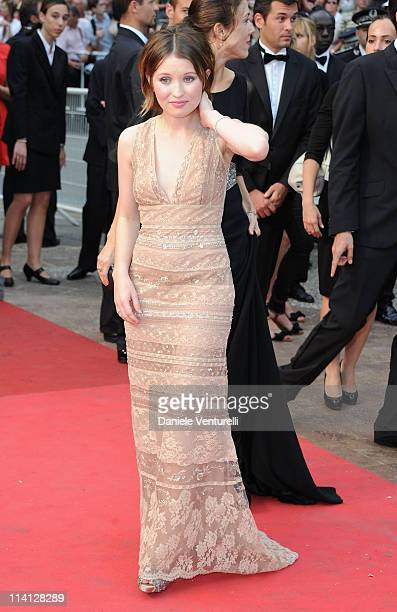 Actress Emily Browning attends the 'Sleeping Beauty' Premiere during the 64th Annual Cannes Film Festival at the Palais des Festivals on May 12 2011...