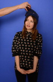 Actress Emily Browning poses for a portrait during the 2014 Sundance Film Festival at the Getty Images Portrait Studio at the Village At The Lift...