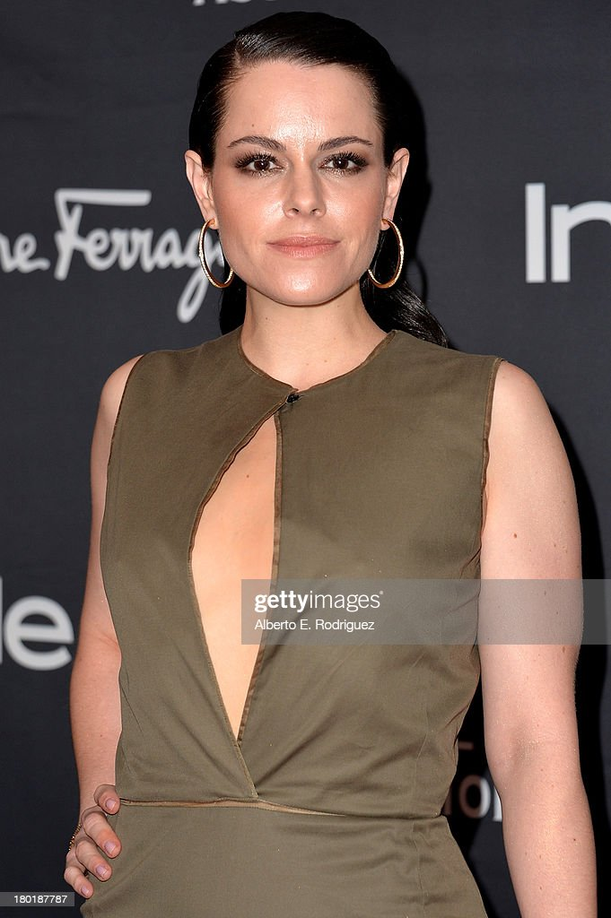 Actress Emily Hampshire arrives at the TIFF HFPA / InStyle Party during the 2013 Toronto International Film Festival at Windsor Arms Hotel on September 9, 2013 in Toronto, Canada.