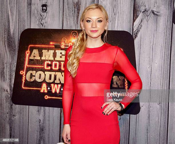 Actress Emily Kinney attends the 2014 American Country Countdown Awards at Music City Center on December 15 2014 in Nashville Tennessee