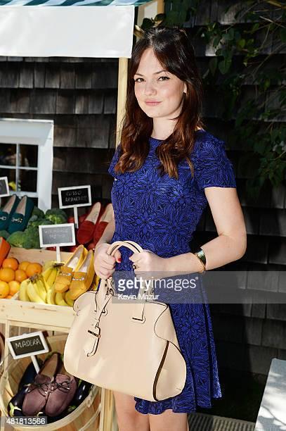 Actress Emily Meade attends Alessandra Facchinetti and Jessica Seinfeld's Baby Buggy Summer Luncheon sponsored by Tod's on July 24 2015 in East...