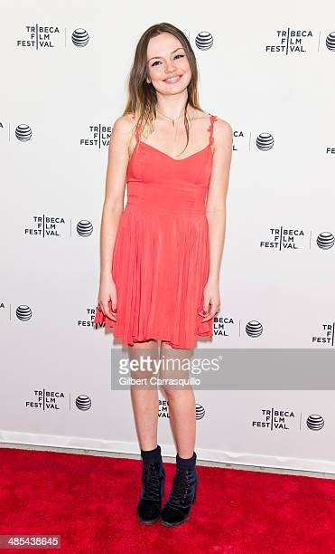 Actress Emily Meade attends the 2014 Tribeca Film Festival screening of 'Gabriel' at SVA Theater on April 17 2014 in New York City