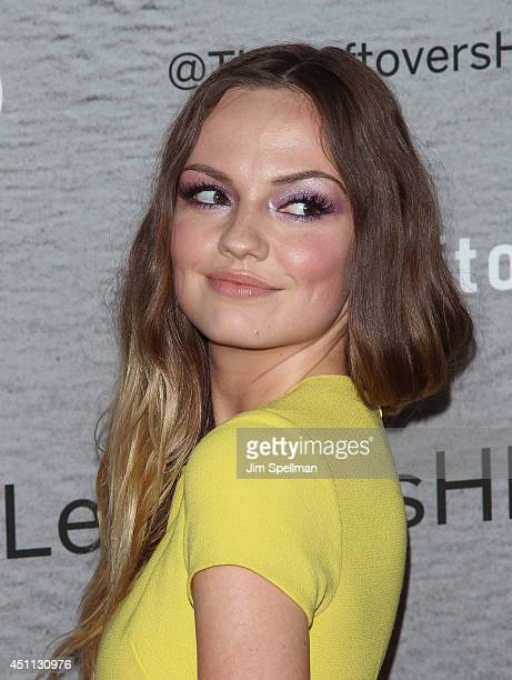 Actress Emily Meade attends 'The Leftovers' premiere at NYU Skirball Center on June 23 2014 in New York City