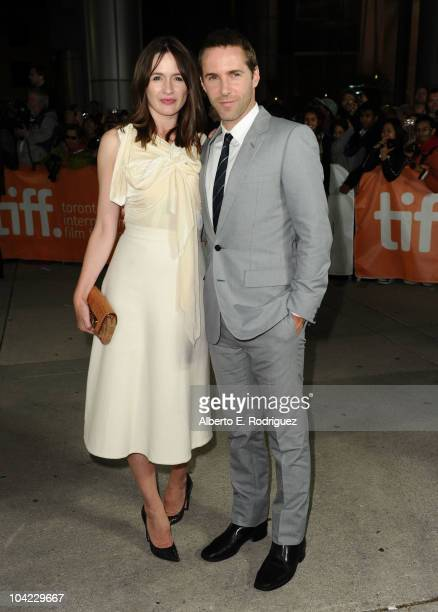 Actress Emily Mortimer and actor Alessandro Nivola attend 'Janie Jones' Premiere during the 35th Toronto International Film Festivalat Roy Thomson...