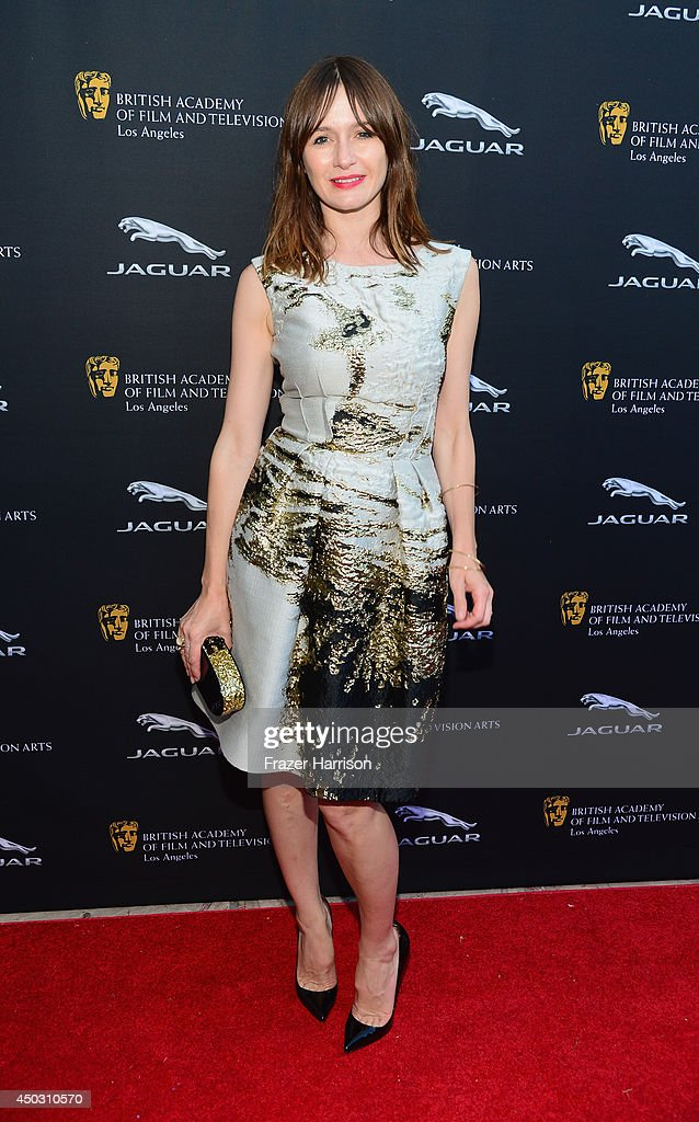 Actress <a gi-track='captionPersonalityLinkClicked' href=/galleries/search?phrase=Emily+Mortimer&family=editorial&specificpeople=202561 ng-click='$event.stopPropagation()'>Emily Mortimer</a> attends BFTA LA Garden Party at British Consul Generals Residence on June 8, 2014 in Los Angeles, California.