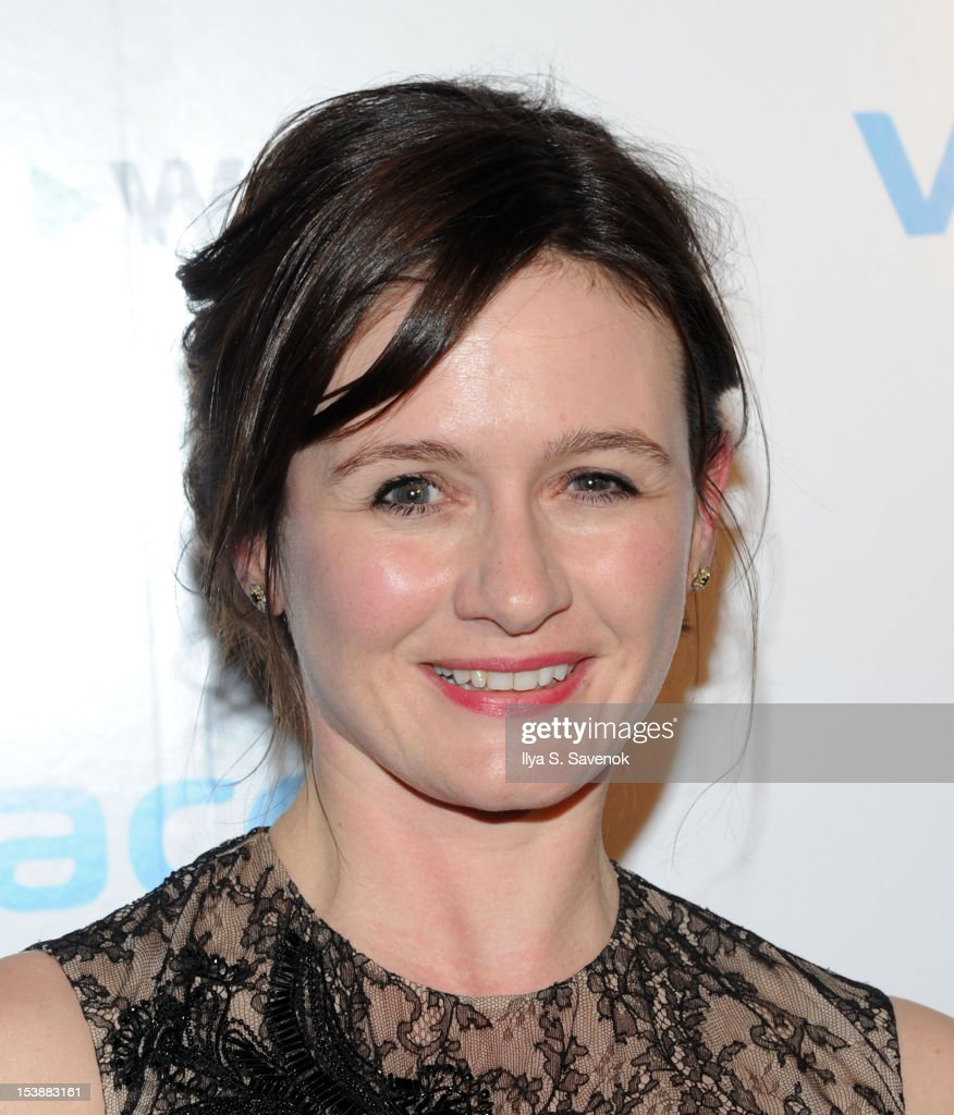 Actress Emily Mortimer attends Reel Works 2012 Gala Benefit at The Edison Ballroom on October 10, 2012 in New York City.