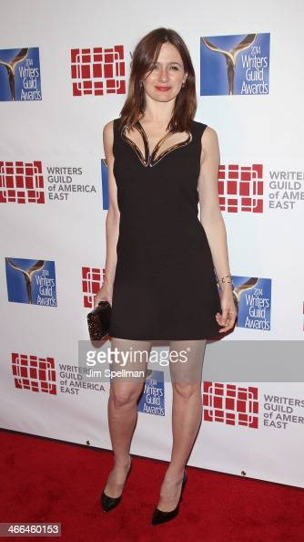Actress Emily Mortimer attends The 66th Annual Writers Guild Awards East Coast Ceremony at The Edison Ballroom on February 1 2014 in New York City