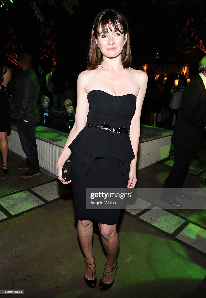 Actress Emily Mortimer attends the after party for HBO's New Series 'Newsroom' Los Angeles Premiere at Boulevard3 on June 20, 2012 in Hollywood, California.