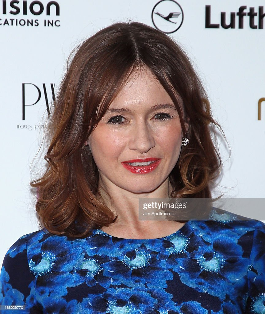 Actress <a gi-track='captionPersonalityLinkClicked' href=/galleries/search?phrase=Emily+Mortimer&family=editorial&specificpeople=202561 ng-click='$event.stopPropagation()'>Emily Mortimer</a> attends the New York Moves Magazine's 10th Anniversary Power Women Gala at the Grand Hyatt New York on November 14, 2013 in New York City.