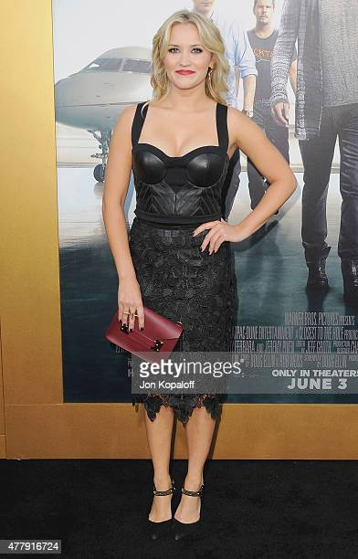 Actress Emily Osment arrives at the Los Angeles Premiere 'Entourage' at Regency Village Theatre on June 1 2015 in Westwood California