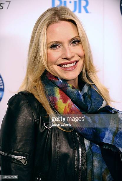 Actress Emily Procter attends 'Summit on the Summit' preascent event at Voyeur on December 9 2009 in West Hollywood California