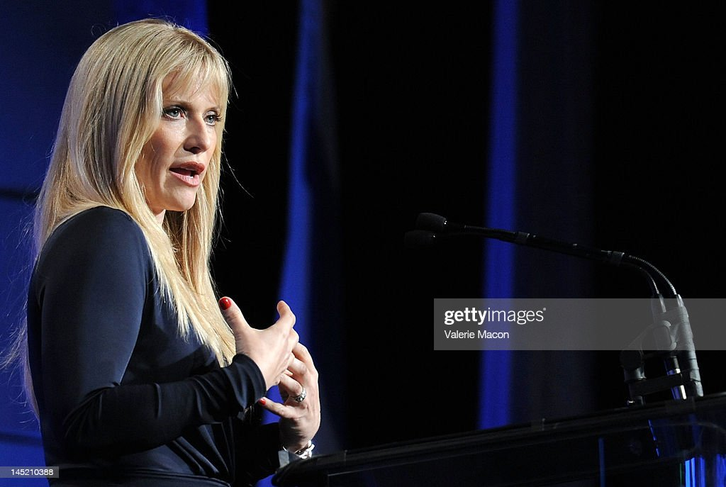 Actress Emily Proctor attends at the Simon Wiesenthal Center's Annual National Tribute Dinner Honoring Jerry Bruckheimer at The Beverly Hilton Hotel on May 23, 2012 in Beverly Hills, California.