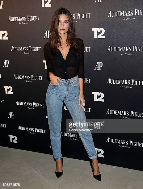 Actress Emily Ratajkowski attends TakeTwo Interactive Hosts Miami Beach Kickoff Party On November 30th At Oceanfront Miami Beach at Oceanfront Miami...
