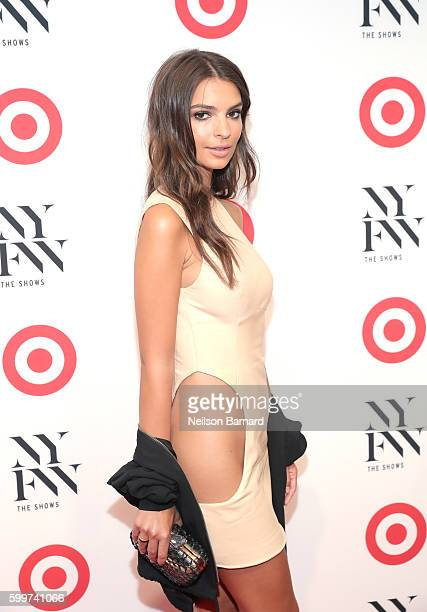 Actress Emily Ratajkowski attends Target IMG New York Fashion Week KickOff Event at The Park at Moynihan Station on Tuesday September 6 2016 in New...