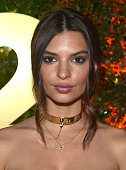 Actress Emily Ratajkowski attends the E3 Kickoff Party Hosted By TakeTwo CEO Strauss Zelnick at Cecconi's on June 15 2015 in West Hollywood California