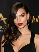Actress Emily Ratajkowski attends The Hollywood Reporter's 18th Annual Hollywood Film Awards After Party at the W Hollywood on November 14 2014 in...