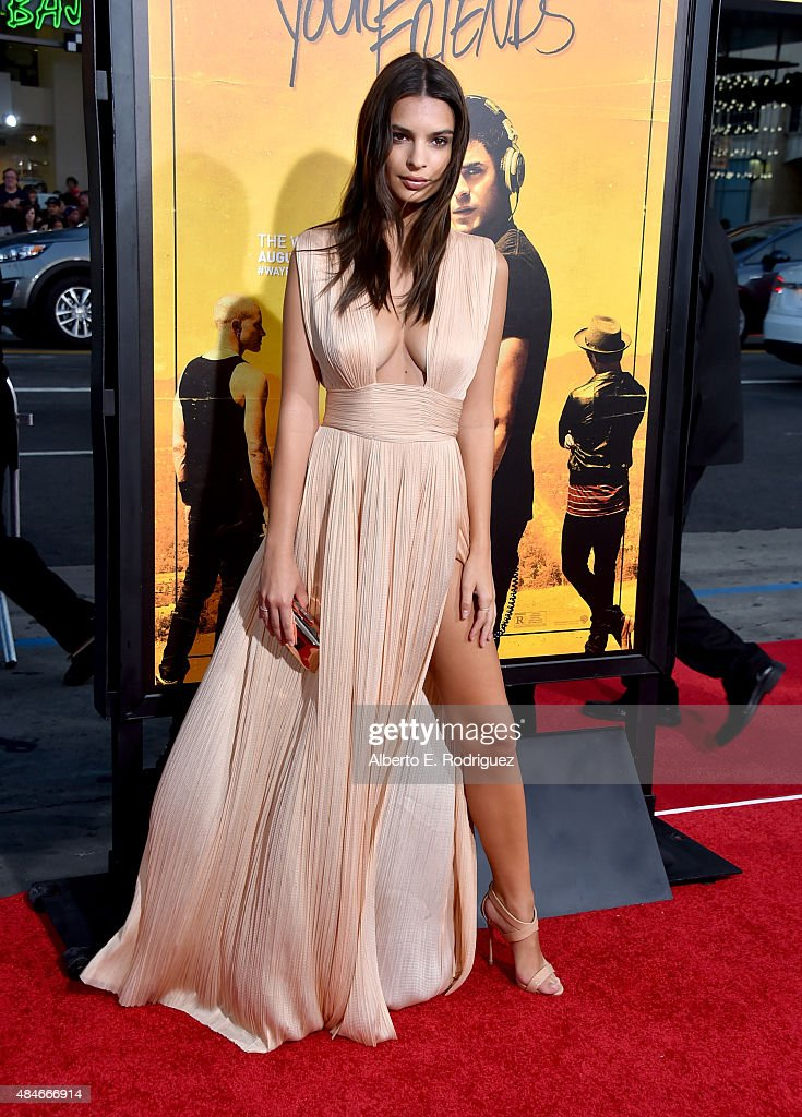 Actress Emily Ratajkowski attends the premiere of Warner Bros. Pictures' 'We Are Your Friends' at TCL Chinese Theatre on August 20, 2015 in Hollywood, California.