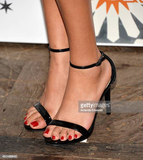 Actress Emily Rios arrives at the 2014 Television Critics Association Summer Press Tour FOX AllStar Party at Soho House on July 20 2014 in West...