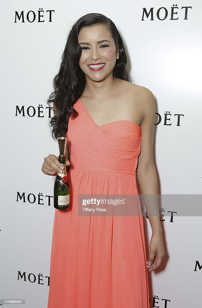 Actress Emily Rios attends Moet At The 17th Annual National Hispanic Media Coalition Impact Awards at the Beverly Wilshire Four Seasons Hotel on February 28, 2014 in Beverly Hills, California.