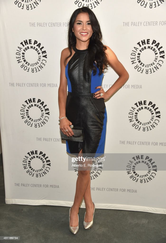 Actress Emily RIos attends The Paley Center For Media Presents FX's 'The Bridge' at The Paley Center for Media on June 24, 2014 in Beverly Hills, California.