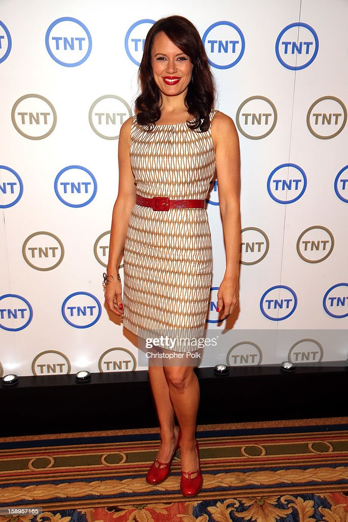 Actress Emily Swallow of 'Monday Mornings' attends Turner Broadcasting's 2013 TCA Winter Tour at Langham Hotel on January 4, 2013 in Pasadena, California. 23128_001_CP_0945.JPG