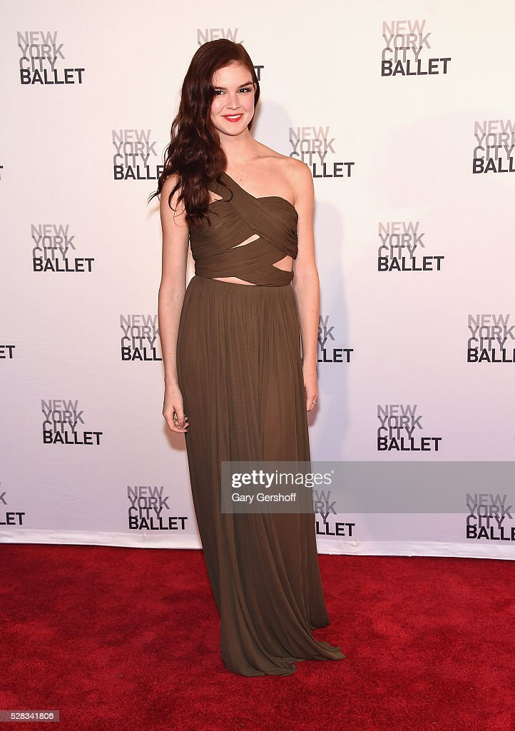 Actress Emily Tyra attends the 2016 New York City Ballet Spring Gala at David H. Koch Theater at Lincoln Center on May 4, 2016 in New York City.