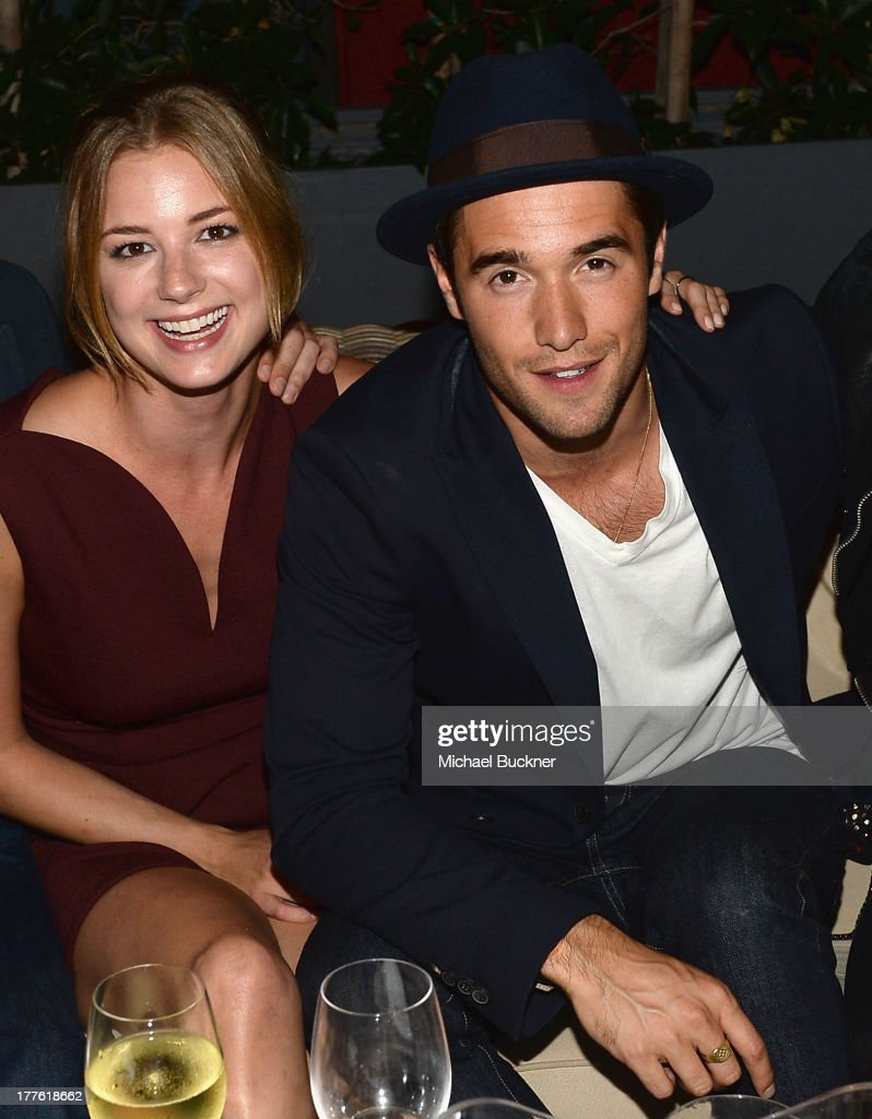 Actress <a gi-track='captionPersonalityLinkClicked' href=/galleries/search?phrase=Emily+VanCamp&family=editorial&specificpeople=574784 ng-click='$event.stopPropagation()'>Emily VanCamp</a> and actor <a gi-track='captionPersonalityLinkClicked' href=/galleries/search?phrase=Joshua+Bowman+-+Actor&family=editorial&specificpeople=7721637 ng-click='$event.stopPropagation()'>Joshua Bowman</a> attend the NYLON September Issue Party hosted by NYLON, ASOS and <a gi-track='captionPersonalityLinkClicked' href=/galleries/search?phrase=Emily+VanCamp&family=editorial&specificpeople=574784 ng-click='$event.stopPropagation()'>Emily VanCamp</a> at The Redbury Hotel on August 24, 2013 in Hollywood, California.