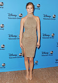 Actress Emily VanCamp arrives at the Disney/ABC Party 2013 Television Critics Association's Summer Press Tour at The Beverly Hilton Hotel on August 4...