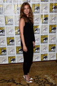 Actress Emily VanCamp attends Marvel's 'Captain America The Winter Soldier' during ComicCon International 2013 at the Hilton San Diego Bayfront Hotel...